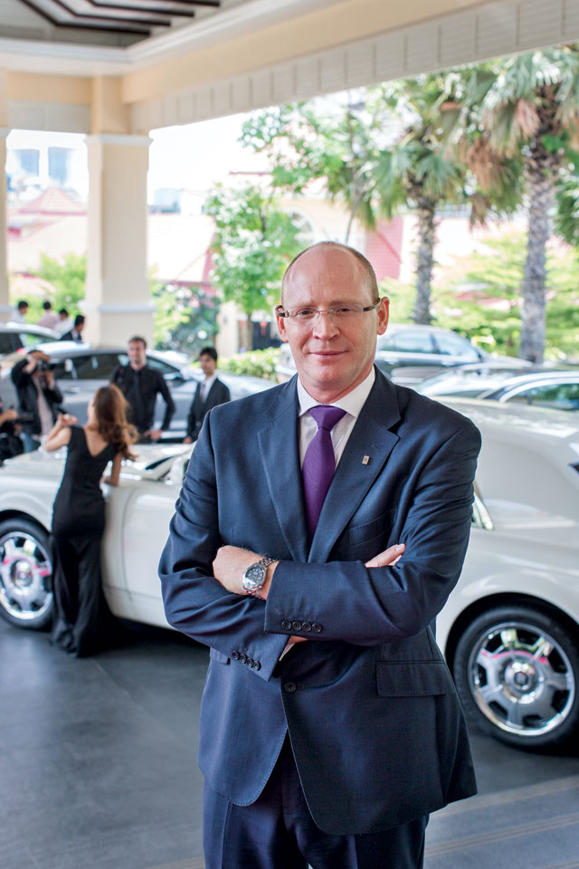 Paul Harris has been working within the BMW Group, which owns Rolls-Royce, for more than 25 years. Prior to his current position, he was a general manager in Northern Europe and held roles in the UK and continental Europe in sales, marketing and financial services. Born in Windsor, UK, Harris is a graduate in business and finance from Coventry University. Photo: Sam Jam
