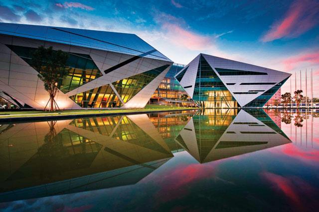Bangkok University campus