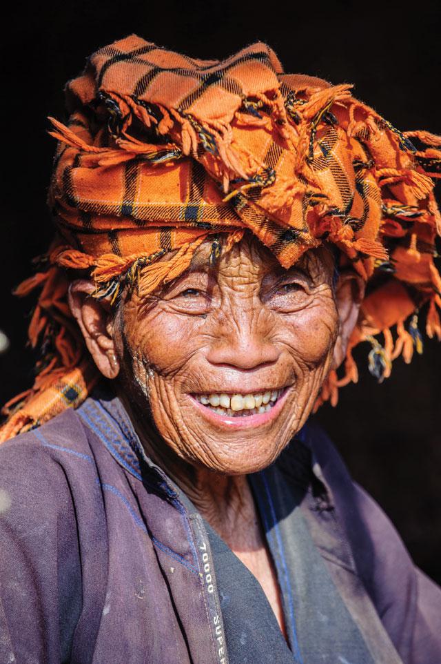 Pa-o, Myanmar