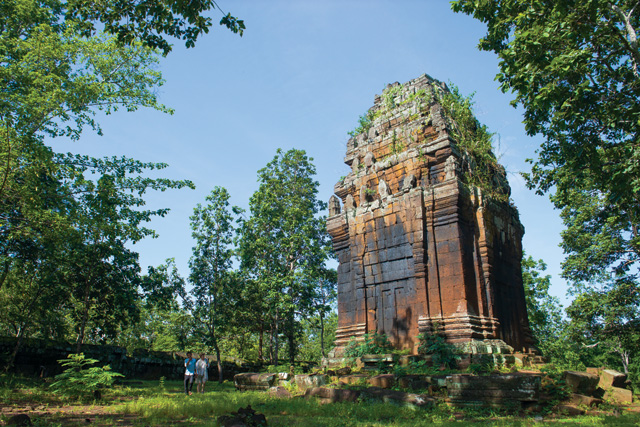 The trail of time: Koh Ker