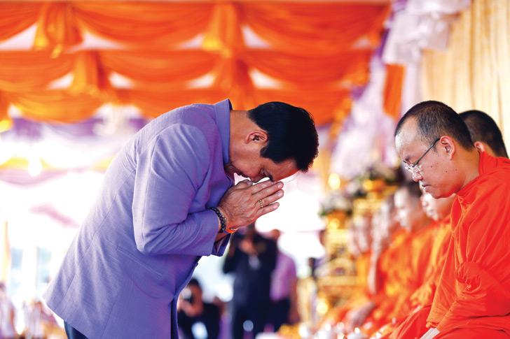 Prayuth Chan-ocha, buddhism, thailand