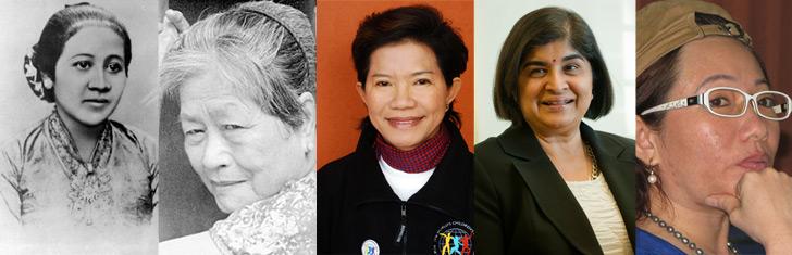 Five inspirational Southeast Asian women