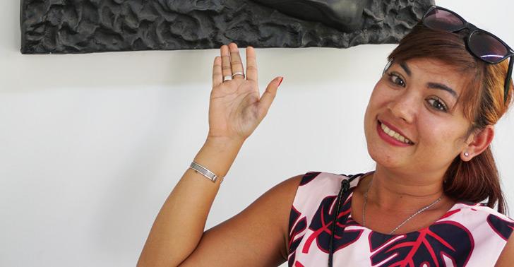Artist Chhan Dina is helping Cambodia's art scene flourish