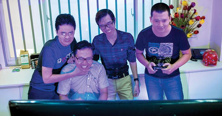 Vietnam's restless game developers