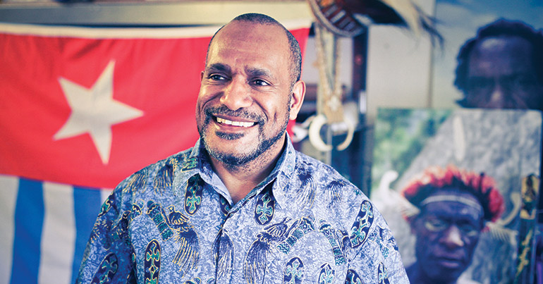 Exiled West Papuan activist Benny Wenda on the long road to peace