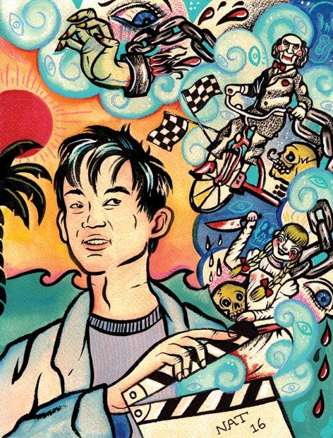 An illustration of James Wan