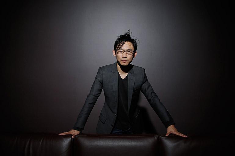 James Wan sitting