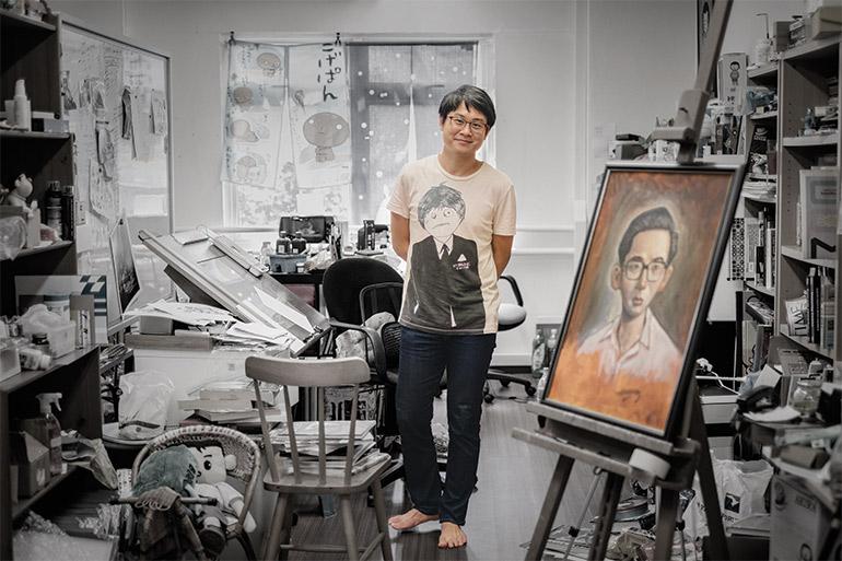 Singaporean artist Sonny Liew