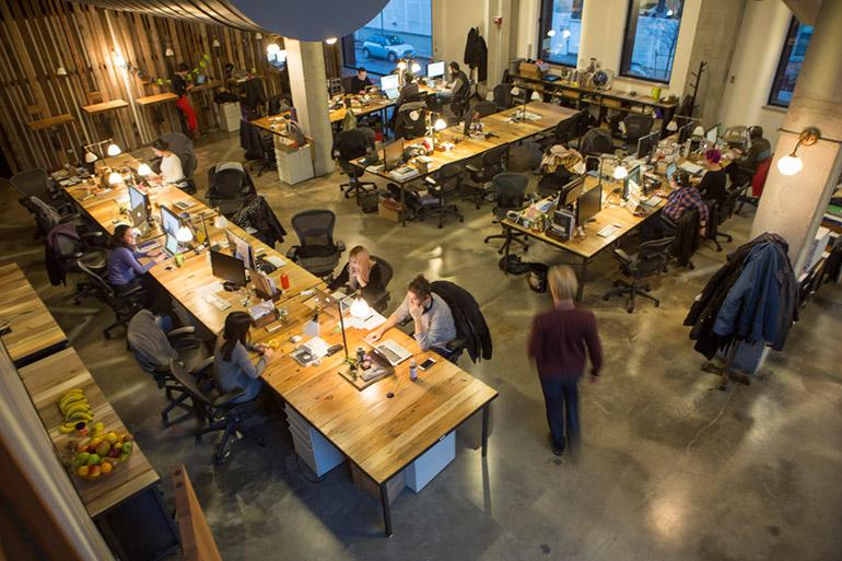 Kickstarter's Singapore office.