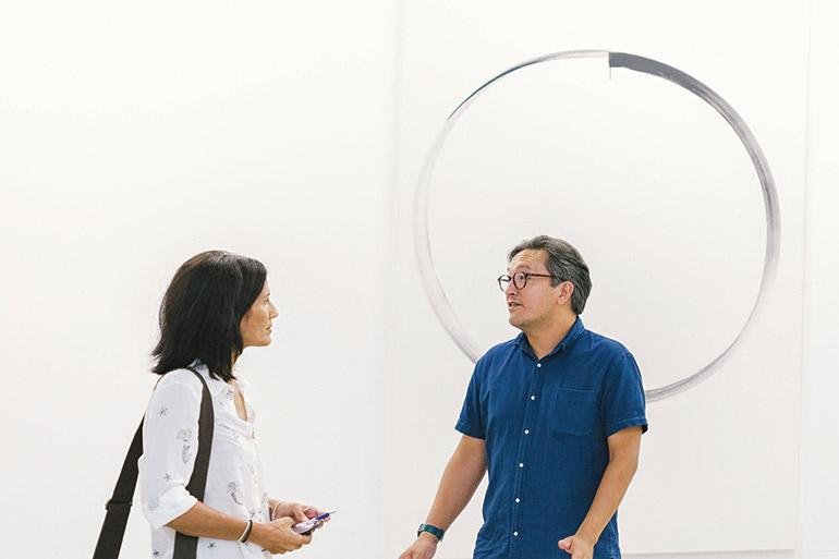 Eric Booth explains the Thai art economy
