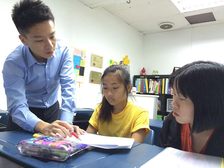 Former teacher Wynn Khoo left behind the profession to become an after-school tutor in Singapore