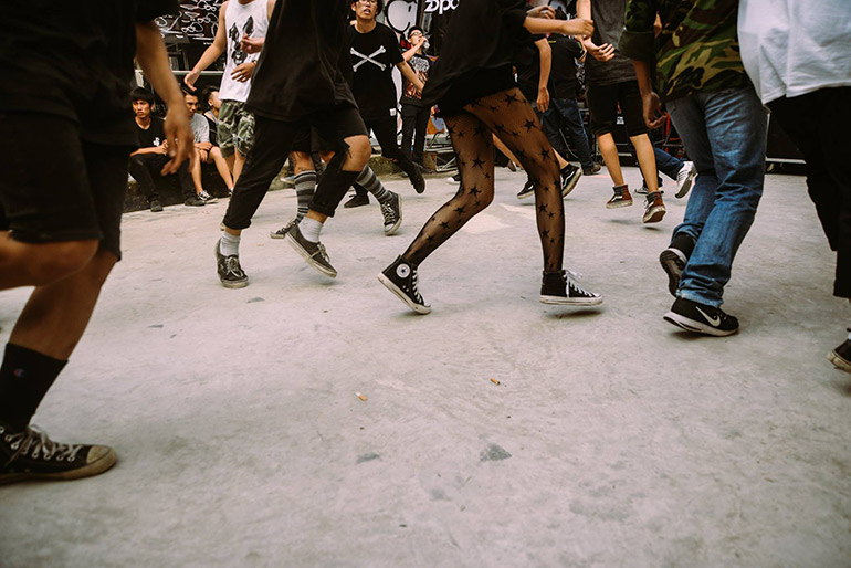Ho Chi Minh City's hardcore music scene has brought together like-minded fans of the aggressive and esoteric genre