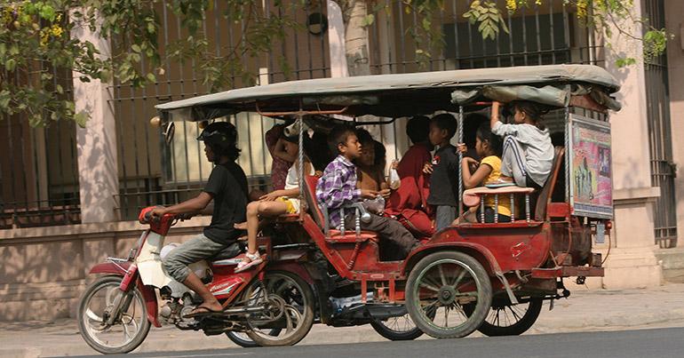The Amish tuk tuk drivers of Siem Reap?