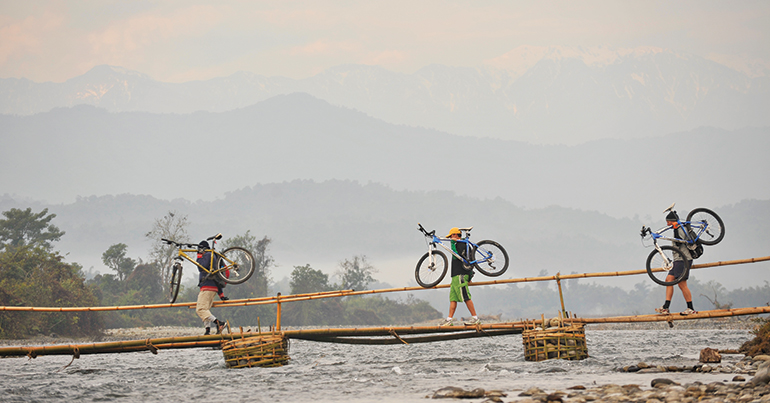 On the road to Mandalay: a cycling tour through rural Myanmar