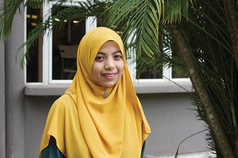 Malaysian student leader Anis Syafiqah Mohd Yusof