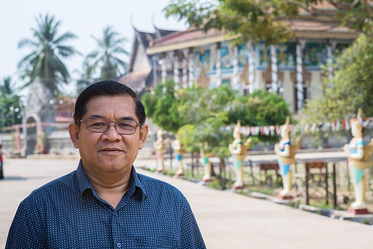 Buddhism for Development director Heng Monychenda.