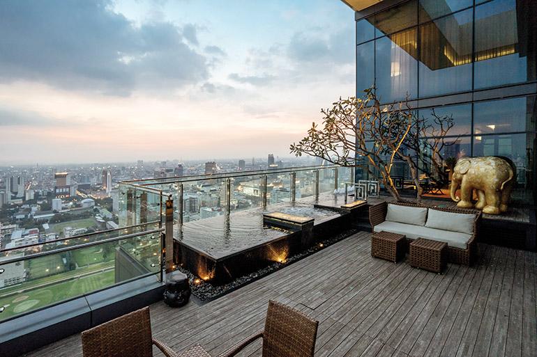 Heinecke's lavish Bangkok penthouse