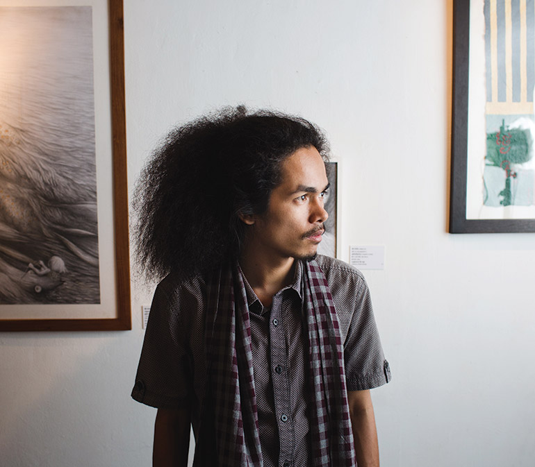 Cambodian curator Reaksmey Yean