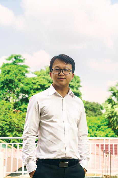 Cambodia Microfinance Association's general secretary Yun Sovanna. Photo: Sam Jam