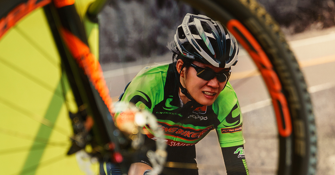 The fastest female cyclist in Cambodia upending social norms