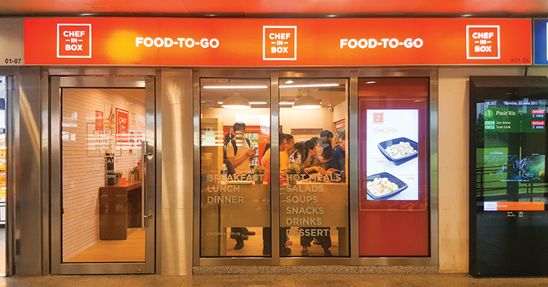 Singapore's latest foodie trend: vending machine cafes that serve up blast-chilled dinners