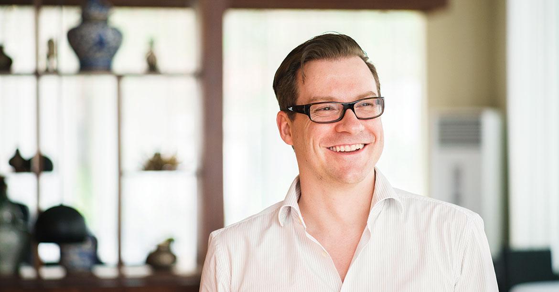 Smart Axiata CEO Thomas Hundt in Phnom Penh