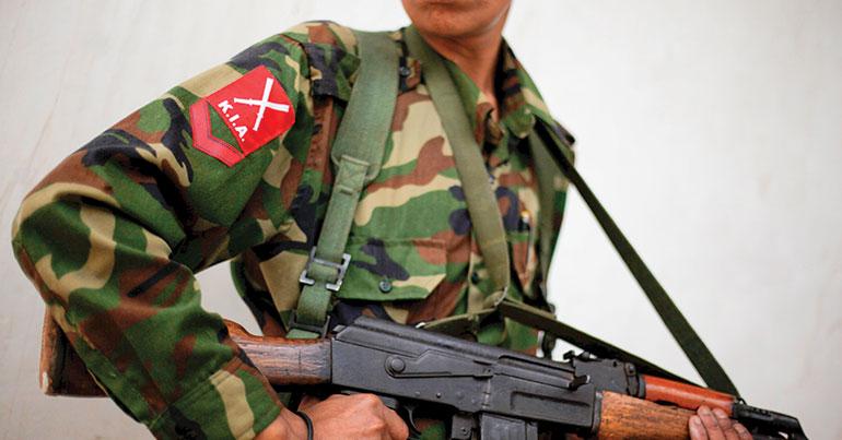Myanmar's 'forgotten war'