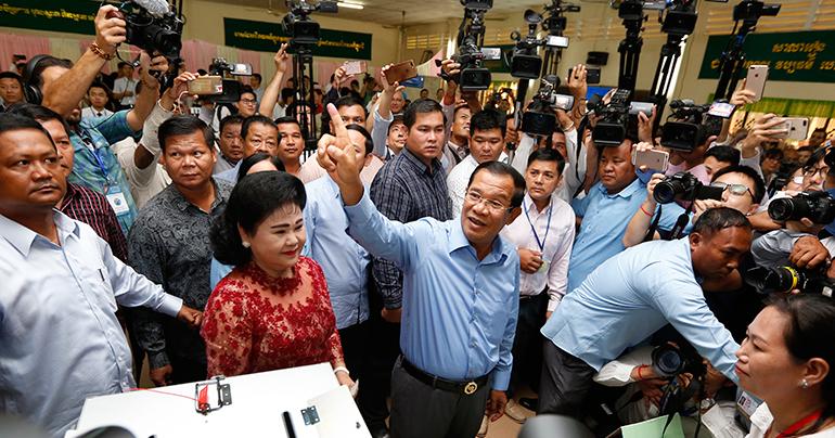 Sanctioning Hun Sen's inner circle
