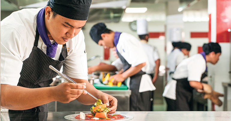 Training a new generation of passionate Cambodian chefs