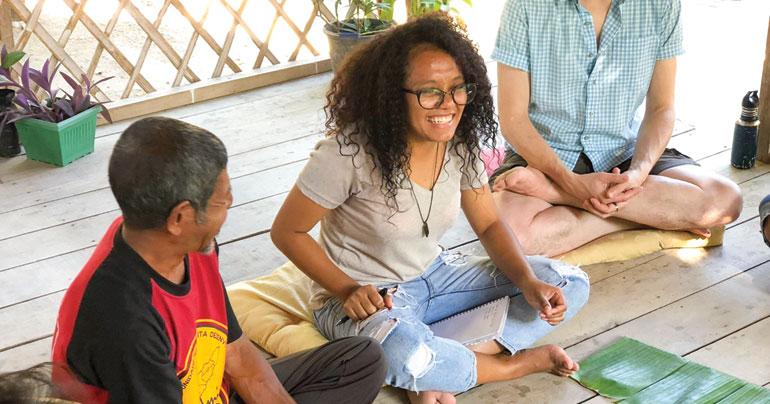 Safira Guterres_food storyteller_Timor-Leste_Timor-Leste Food Innovators Exchange_TLFIX_Southeast Asia Globe 2018