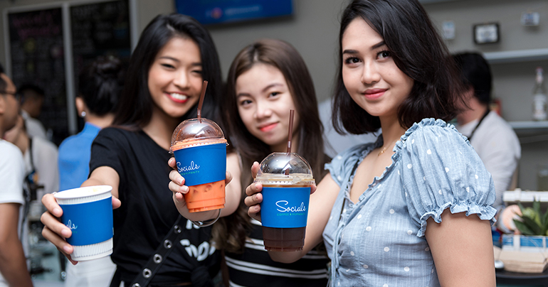 Taking on Cambodia's deaf stigma, one coffee at a time