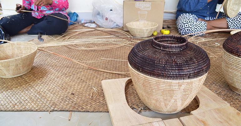 Weaving a brighter future for Cambodia's rural women