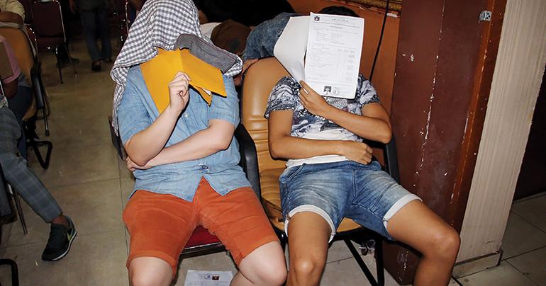 gay sauna_Jakarta_Indonesia_detainees_press conferences_LBGT_Southeast Asia Globe 2018