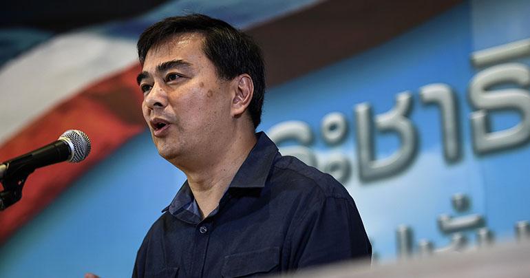 Abhisit Vejjajiva_Democrat Party_Thailand_Lillian Suwanrunpha_leader_Southeast Asia Globe 2019