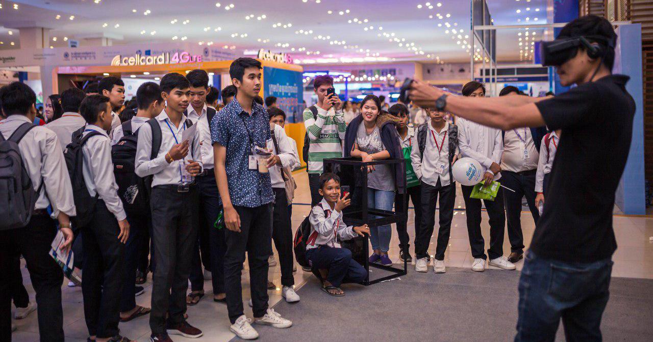 spectators at Digital Cambodia 2019 Photo: Digital Cambodia