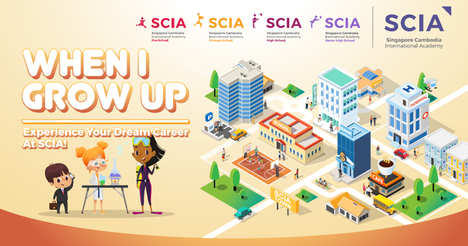 Role-play and experience your dream career at SCIA Open House