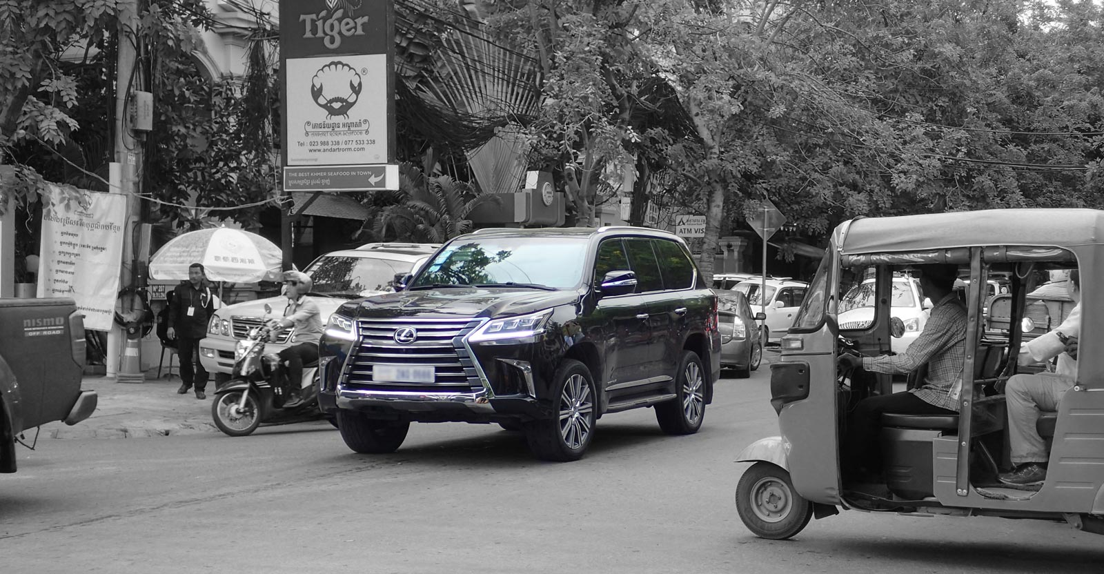 Cambodia is the only nation in ASEAN to allow used car imports. Photo: Amanda Kaufmann