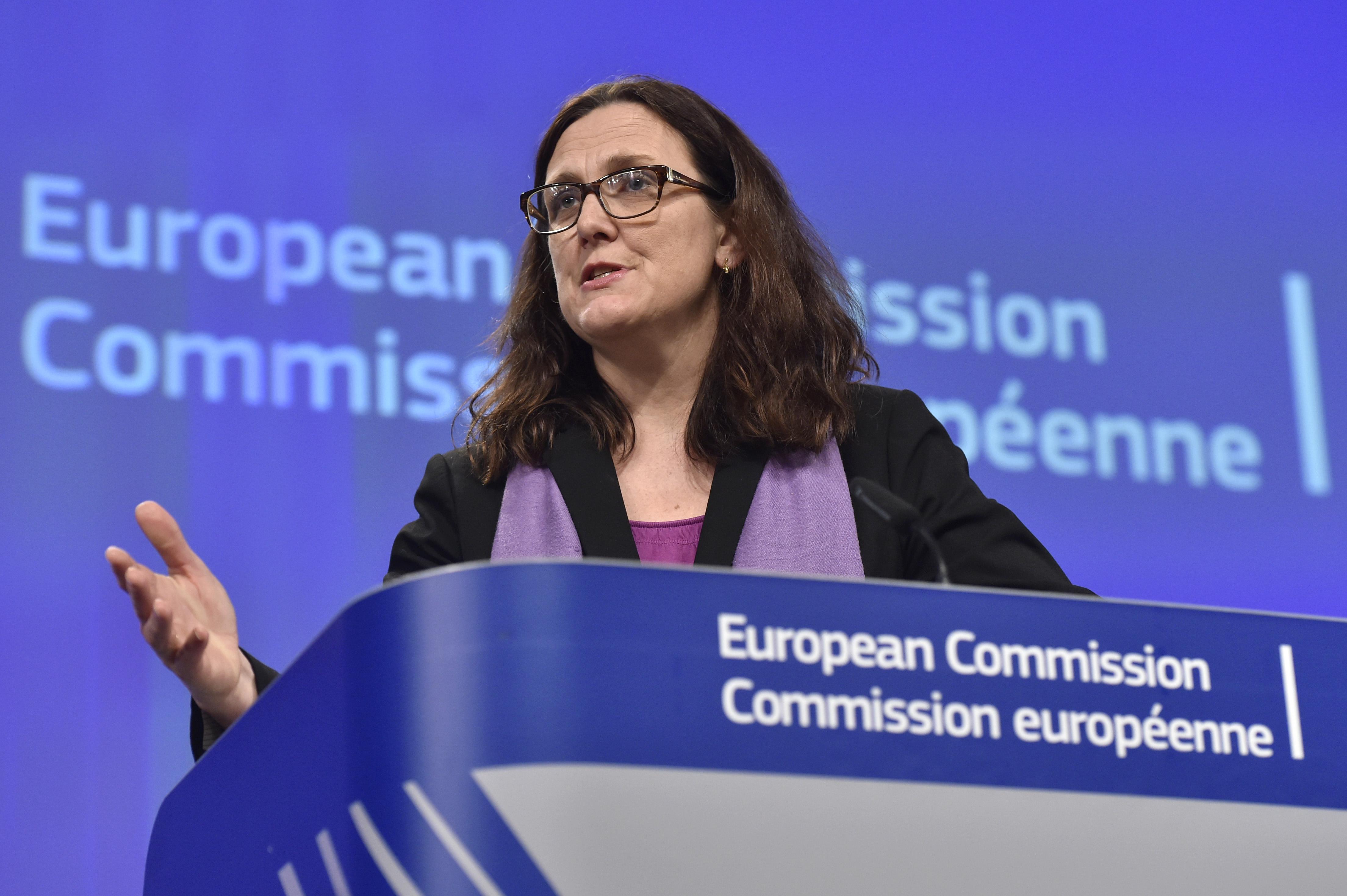 European Commissioner for Trade Cecilia Malmstroem has been a vocal critic of Cambodia's political crackdown. Photo: Eric Vidal