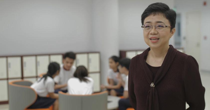 Kong Hwee Ling, Principal, Senior High School