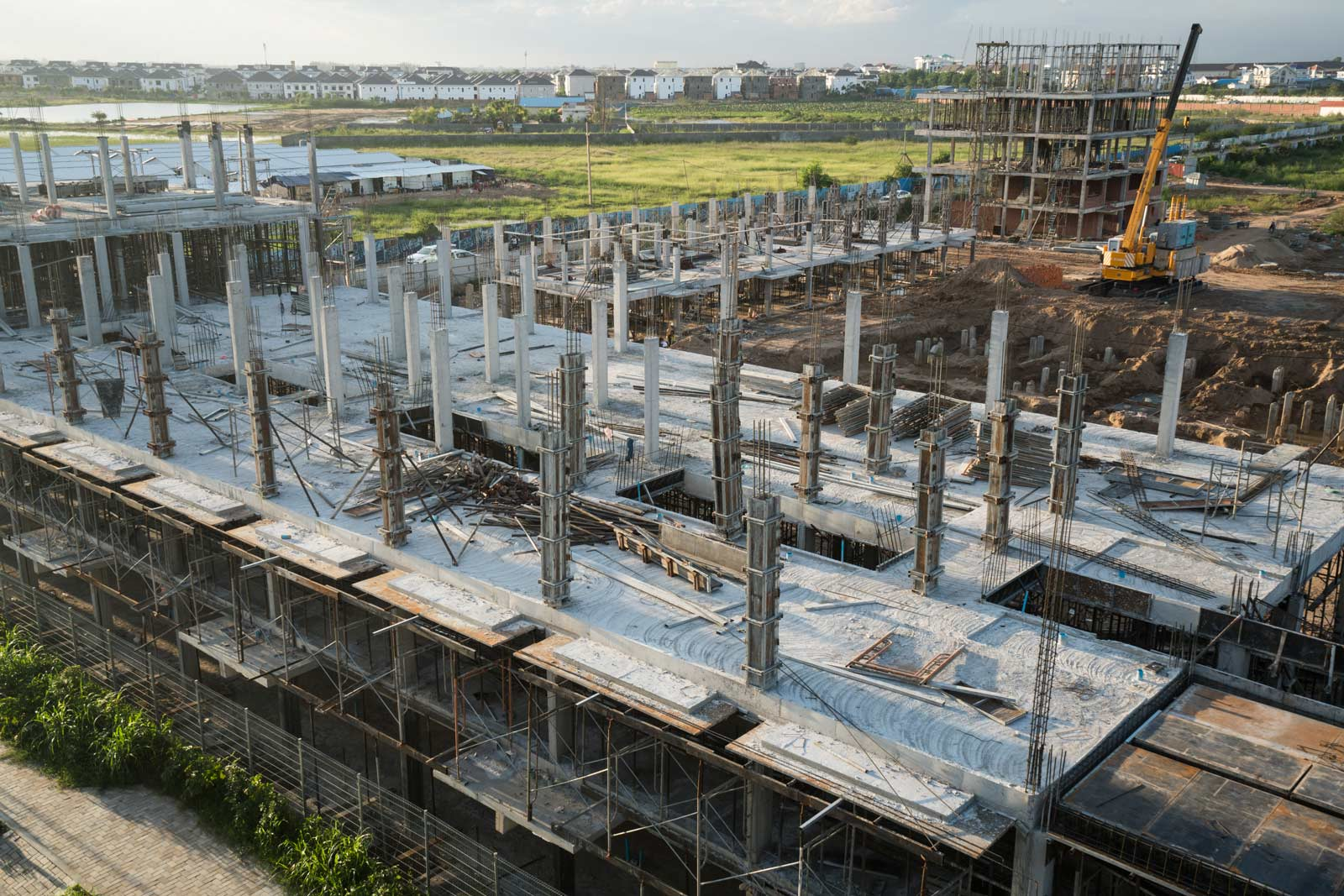 Cambodia's construction boom is drawing many into the real estate business for a chance to turn a quick profit. Photo: Nigel Dickinson