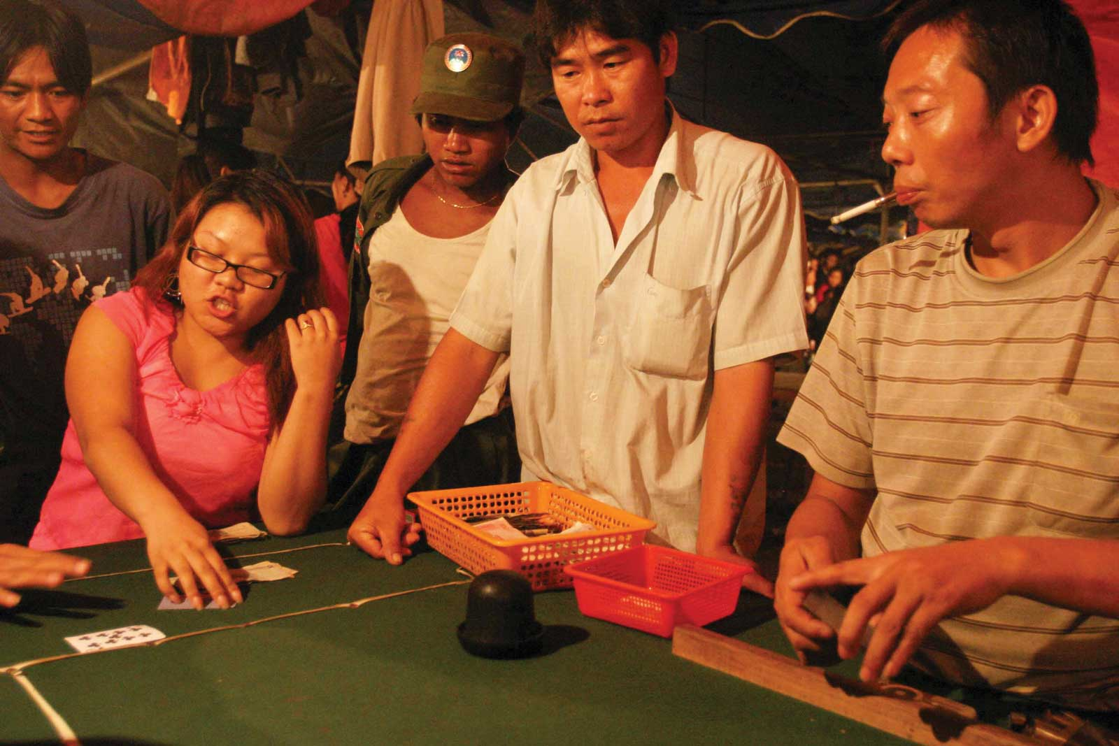 Many Chinese nationals travel to Wa State to gamble in the capital's casinos – a practice outlawed in mainland China. Photo: Torgeir Norling