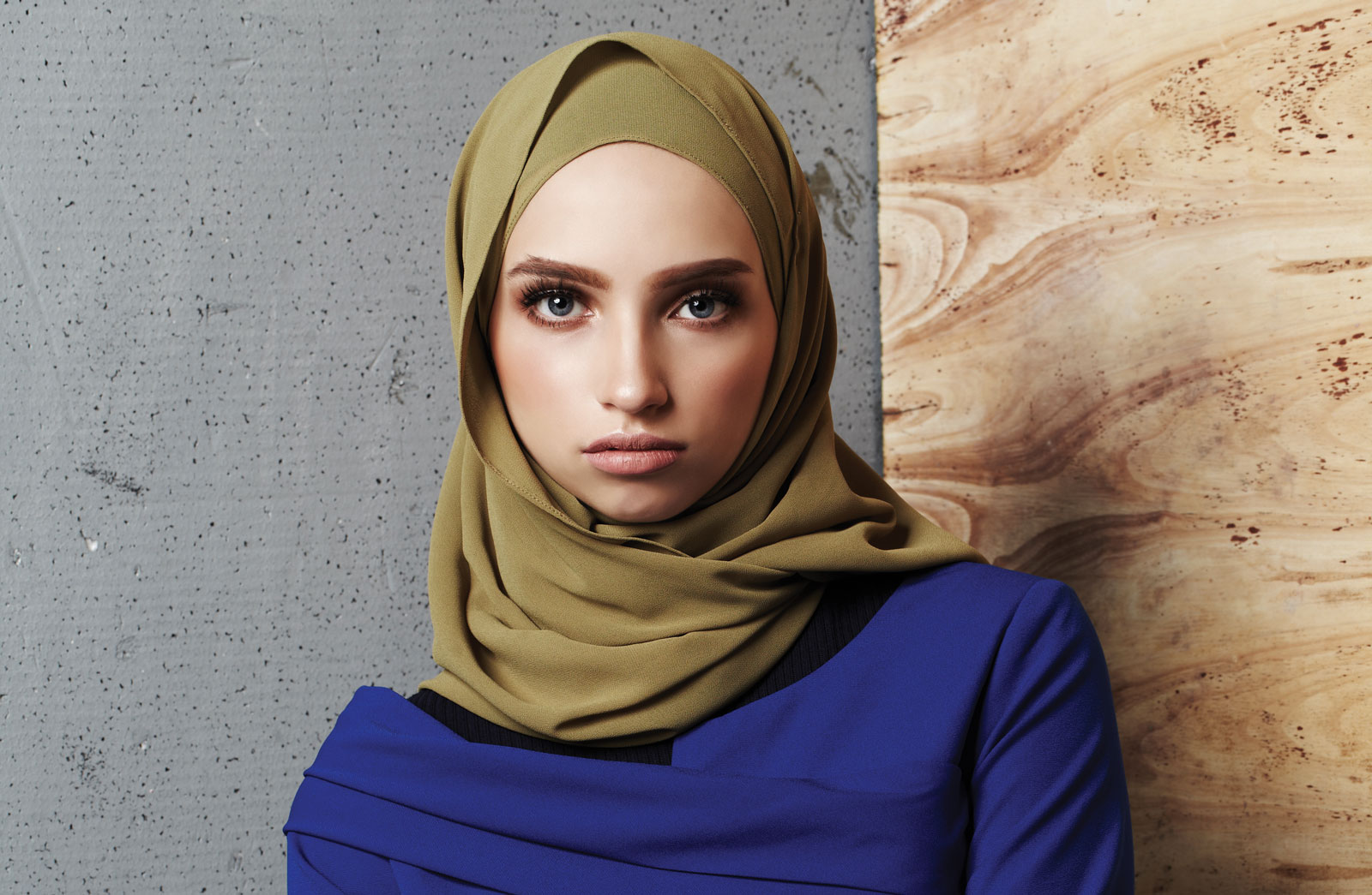 Hipster dengan hijab