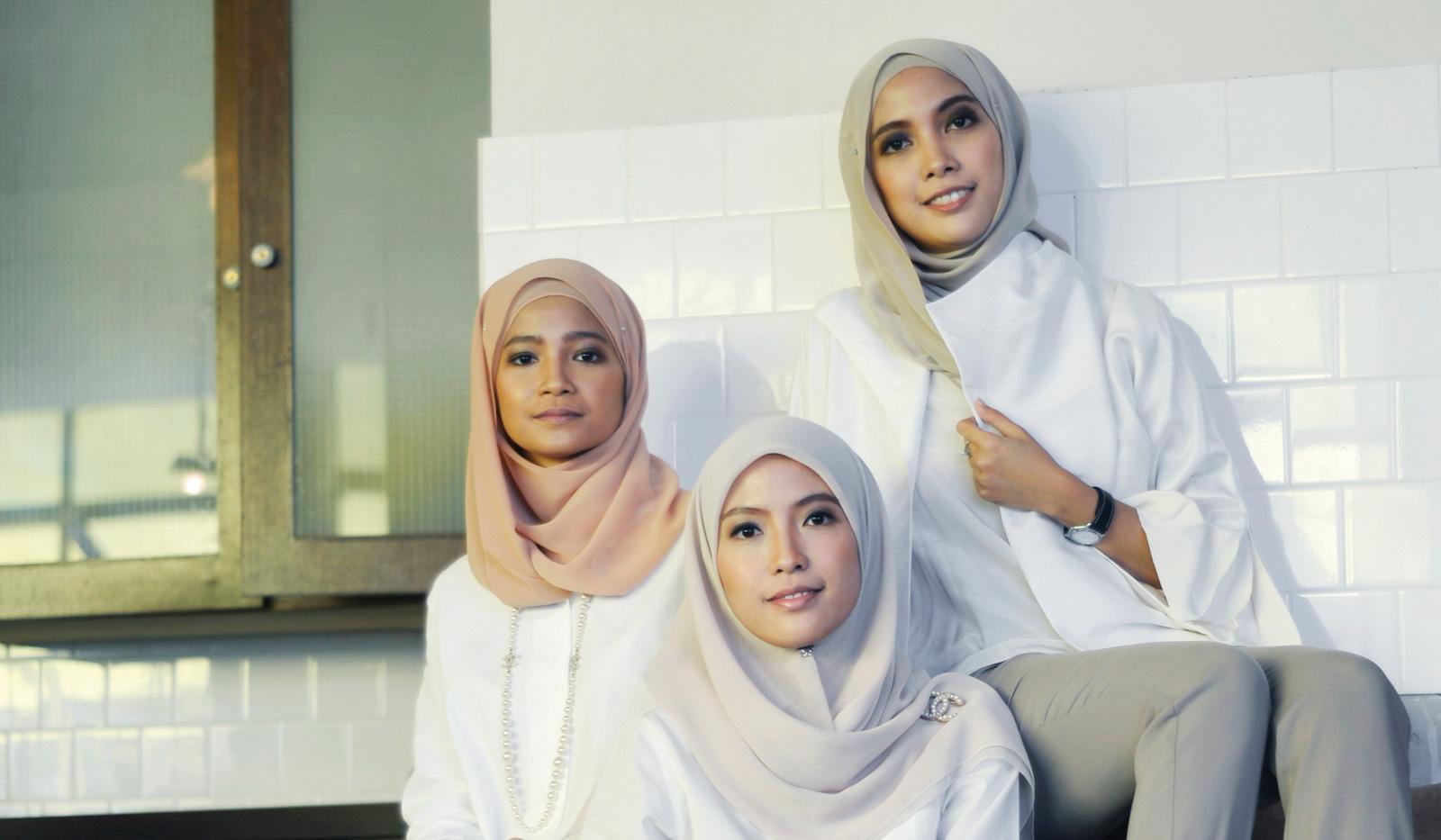 The Zulkifli sisters, who co-founded Malaysian fashion house Mimpikita