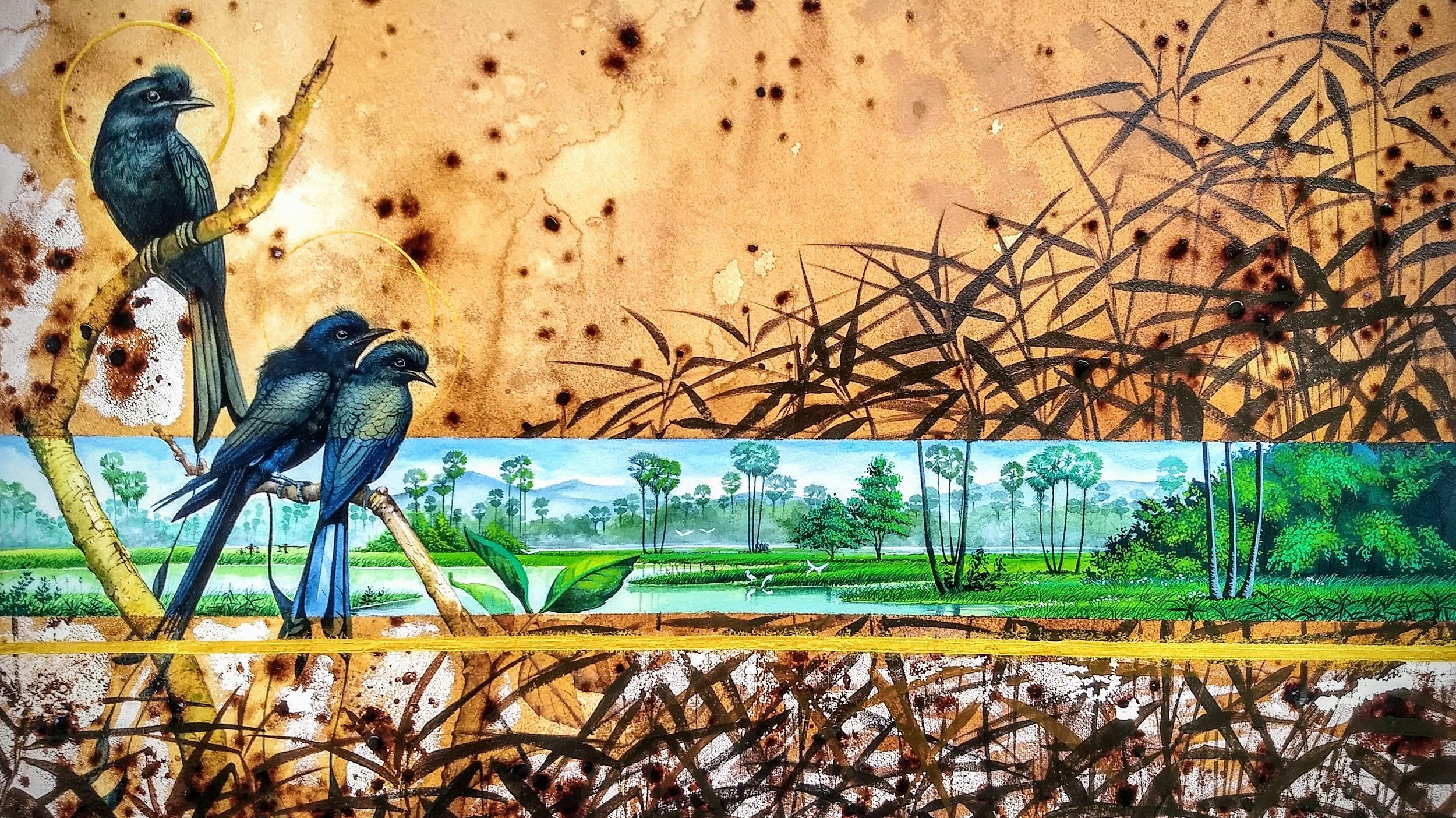 """An """"Out of Control"""" exhibition to raise awareness on wildlife protection and the excesses of society"""