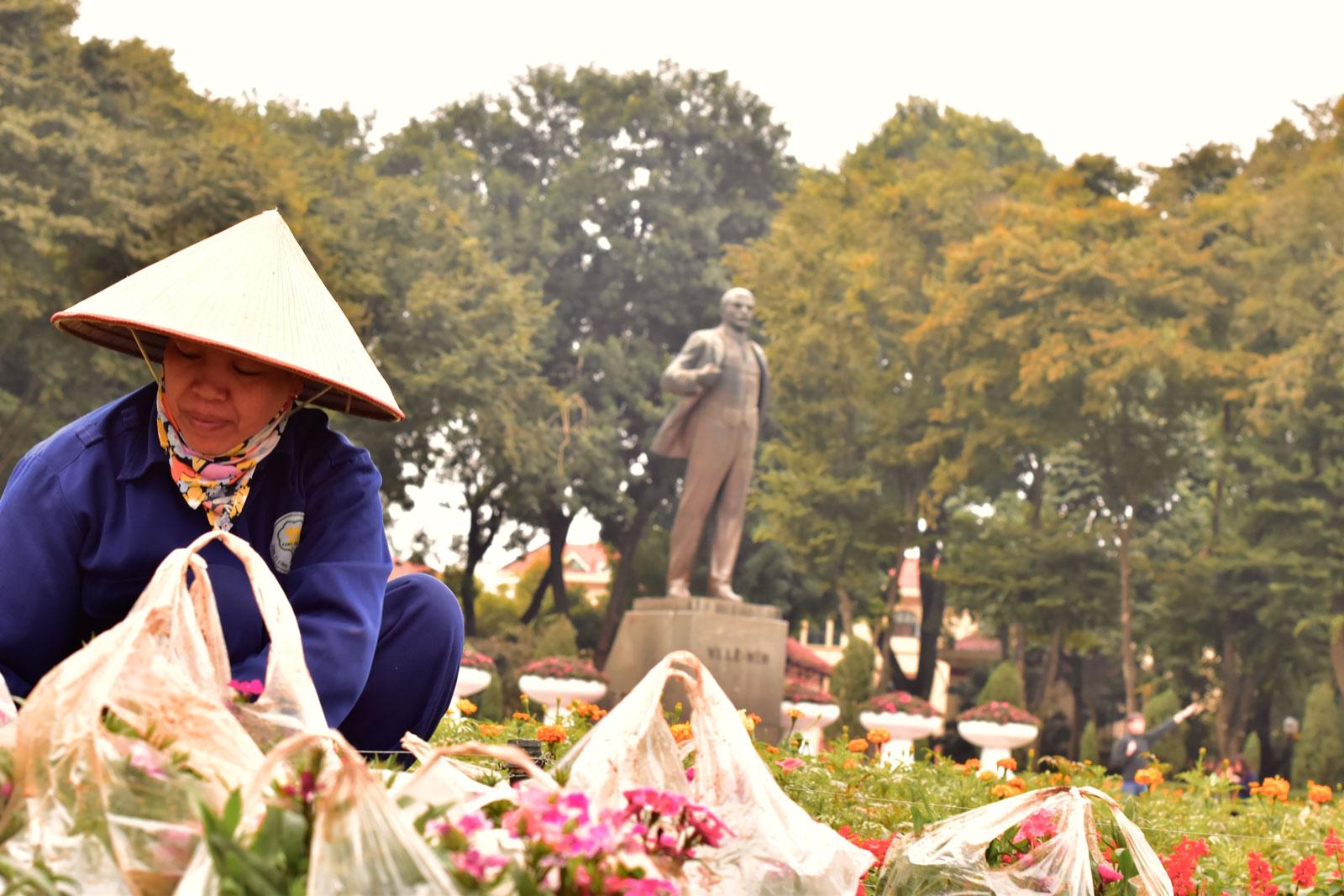 Despite Vietnam's success in attracting capitalist investors, this statue of Lenin is a landmark in capital Hanoi. Photo: Simon Roughneen