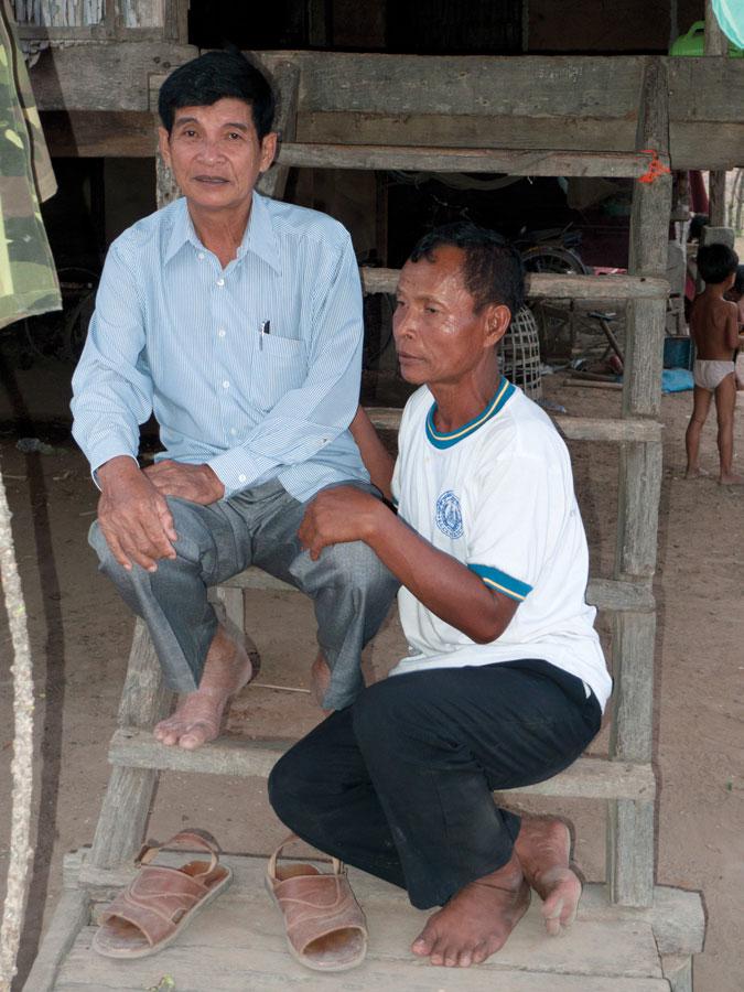 Van Chhuom and Nai-Kong. Photo: Dave Walker