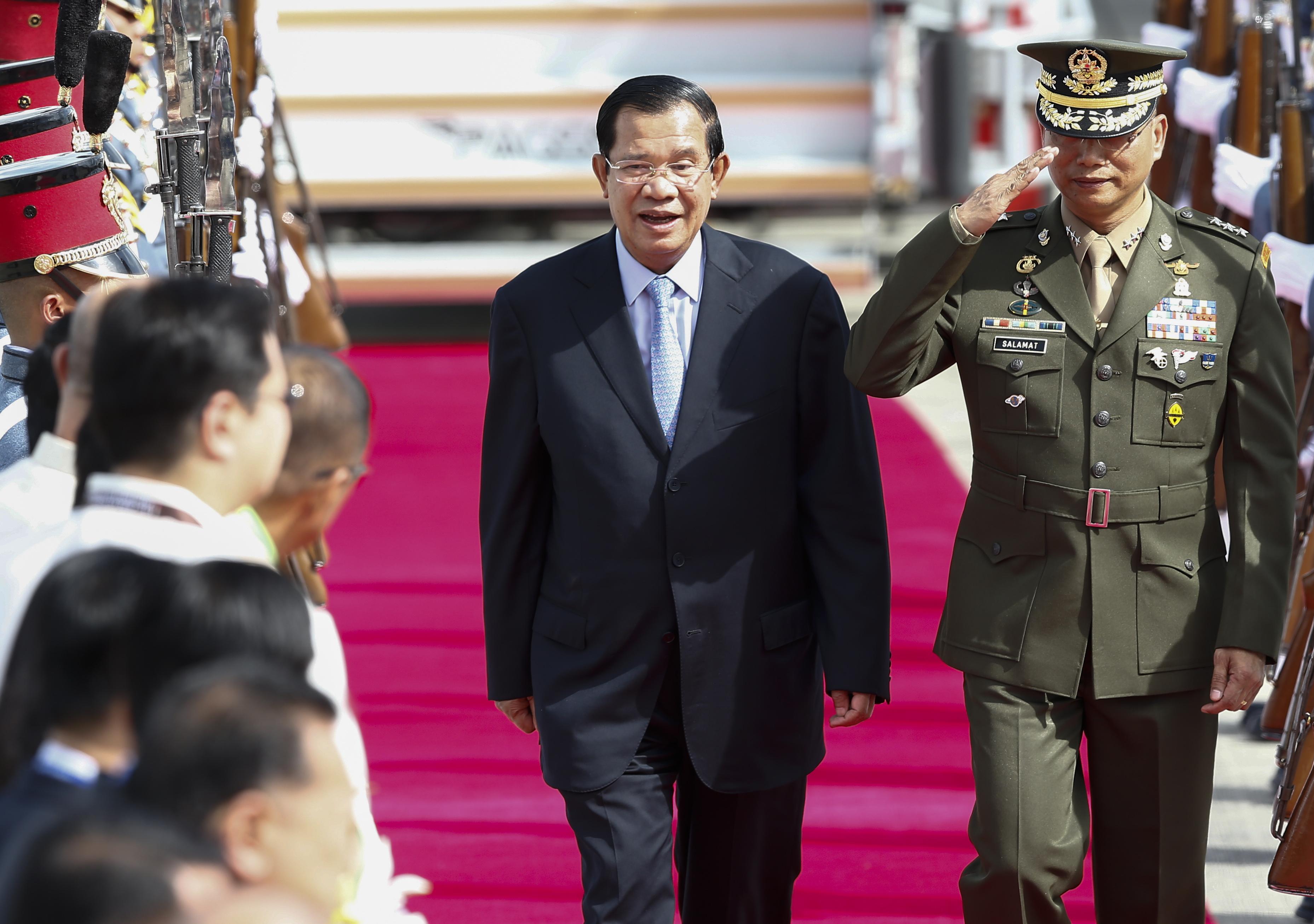Cambodia's crossroads