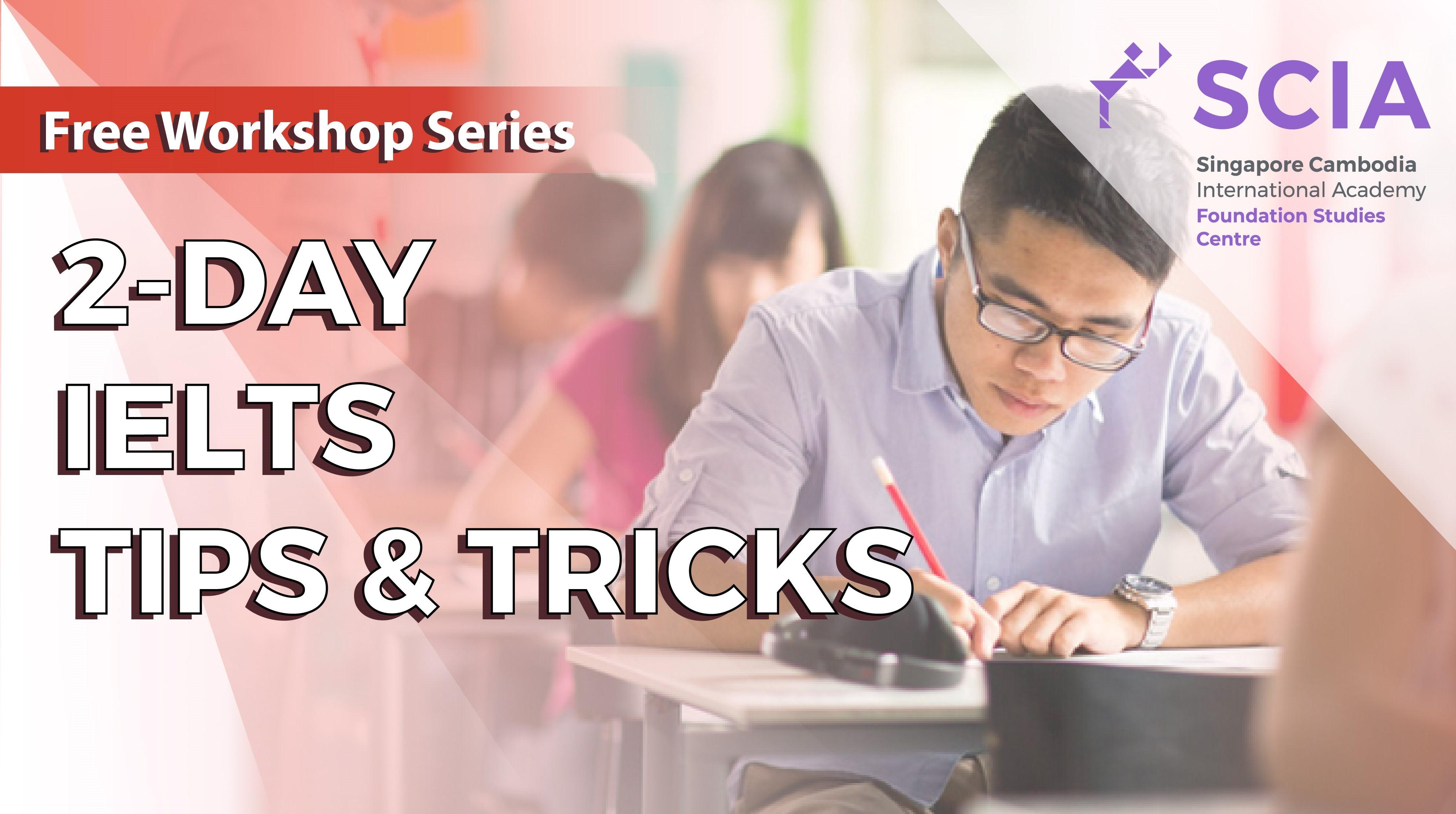 2-Day IELTS Tips & Tricks