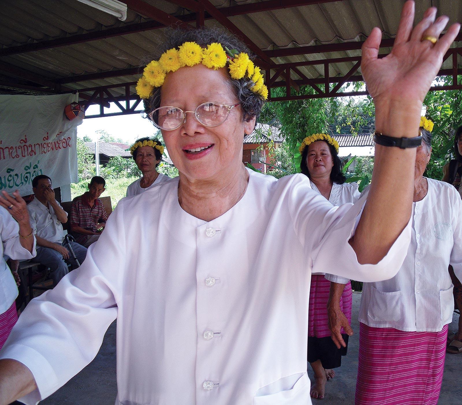 Changfong Fumfuey, founder of We Love Health. Photo: Tiep Seiha