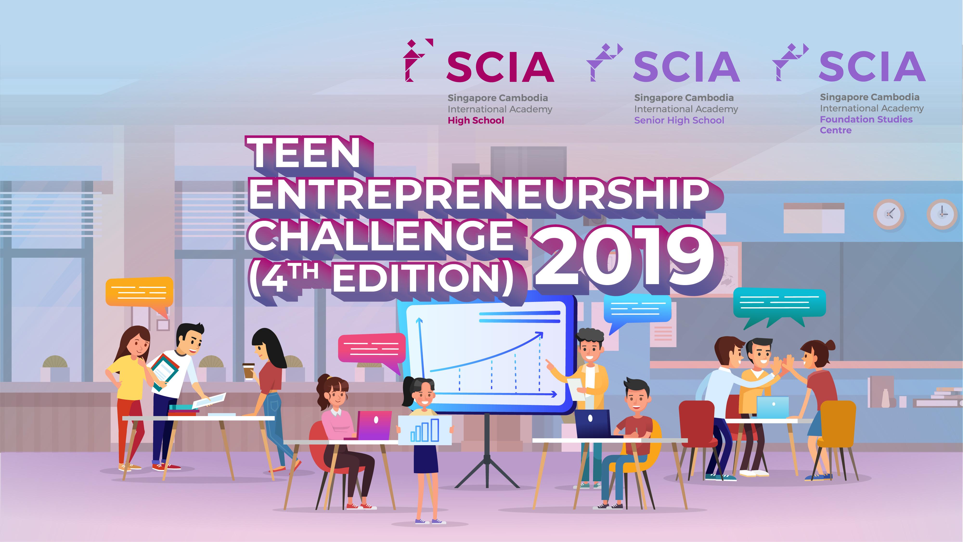 SCIA Teen Entrepreneurship Challenge (TEC) 2019: 4th Edition is BACK this November!